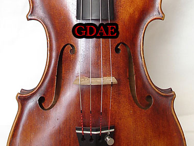 how to fix a violin string